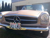 Mercedes SL230 W113 SOFT TOP